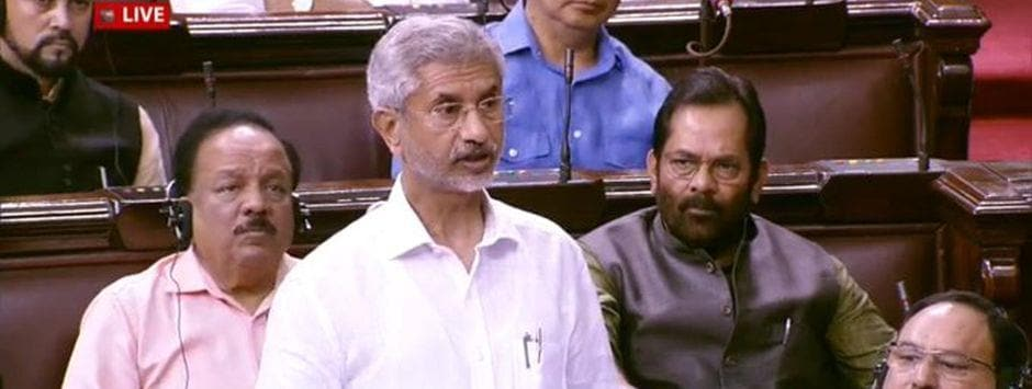 Parliament LIVE updates: Protesting Opposition MPs outshout S Jaishankar in Lok Sabha, demand Narendra Modi's statement