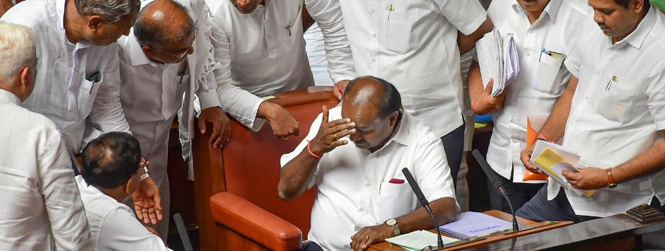 Karnataka Assembly Floor Test Results LIVE Updates: HD Kumaraswamy loses trust vote; 105 MLAs vote against govt