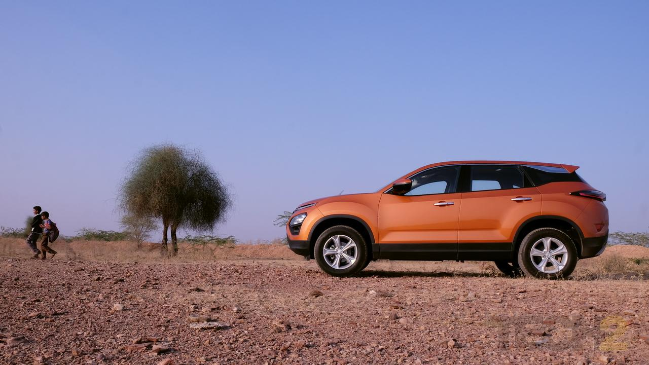 Tata Harrier SUV unveiled in India starting at a price of Rs 12.69 lakh