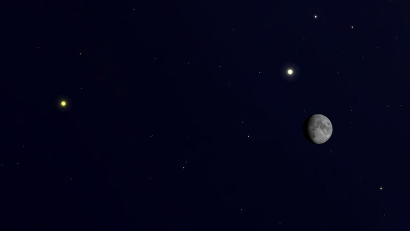 Christmas 2020 sky will see Jupiter and Saturn in a rare double planet alignment