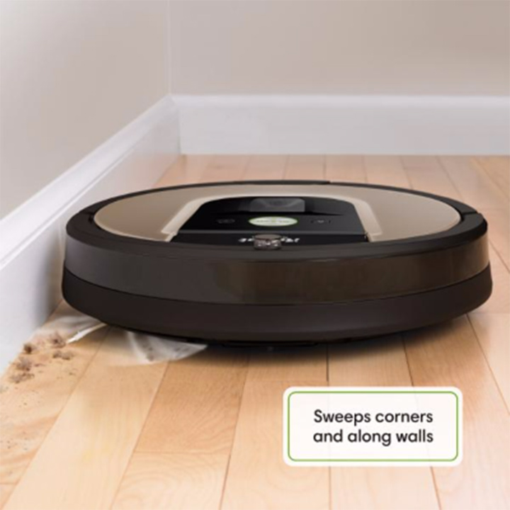 The Roomba's little arm that sweeps up dirt from corners is perhaps its best designed feature.