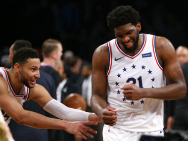 NBA Playoffs 2019: Fit-again Joel Embiid scores game-high 31 points to guide 76ers past Nets; Nuggets beat Spurs to level series