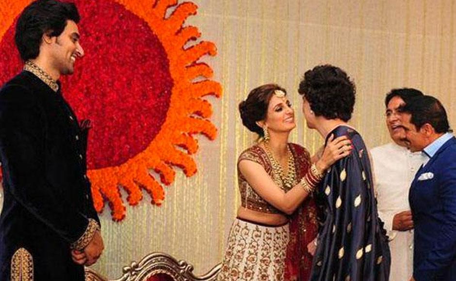 Priyanka Gandhi and Robert Vadra. Twitter