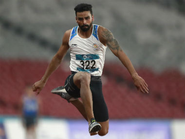 National Inter-State Athletics Championships: Triple-jumper Arpinder Singh wins gold but fails to touch Worlds qualifying mark