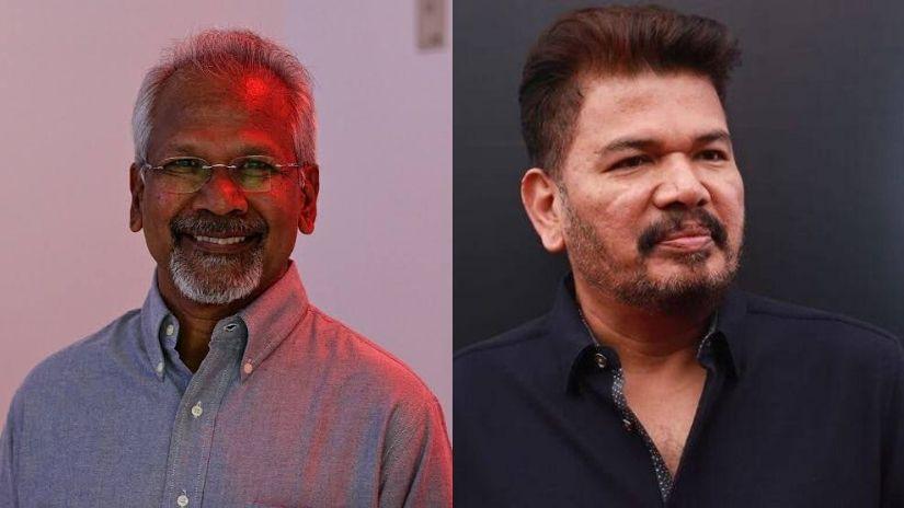 Mani Ratnam (left) and Shankar. Images from Twitter