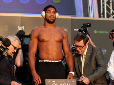Londons calling, says Anthony Joshua who is likely to defend heavyweight titles at Tottenhams new stadium