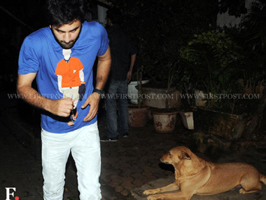 Ranbir Kapoor loves a good party and it shows!