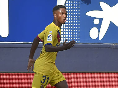 LaLiga: Ansu Fati becomes third-youngest player to score in league but can't rescue Barcelona from draw at Osasuna