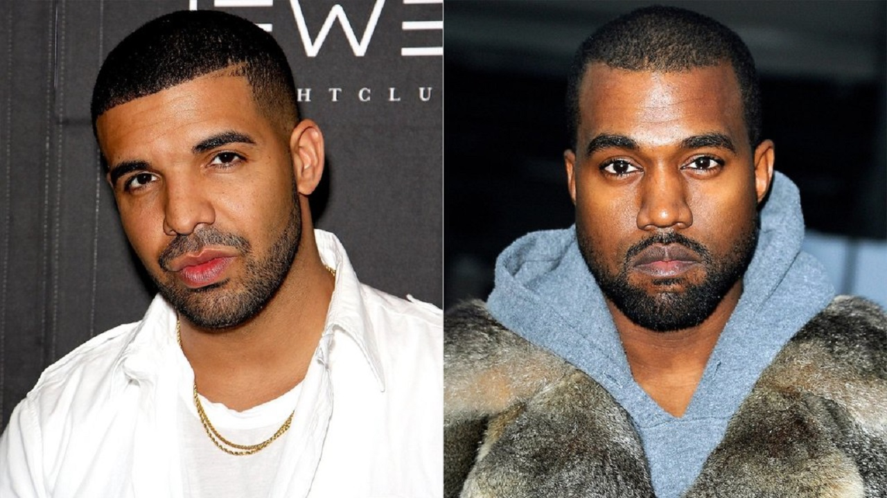 Kanye West accuses rapper Drake of threatening him and his family in a slew of tweets