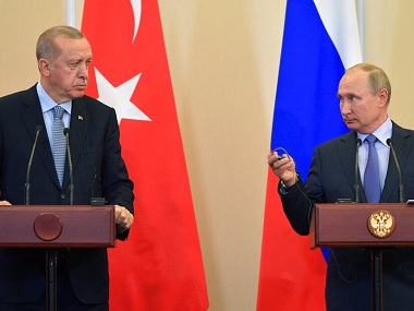 Russian forces head towards Syria-Turkey border in blow to Kurds; Donald Trump lifts sanctions on Ankara