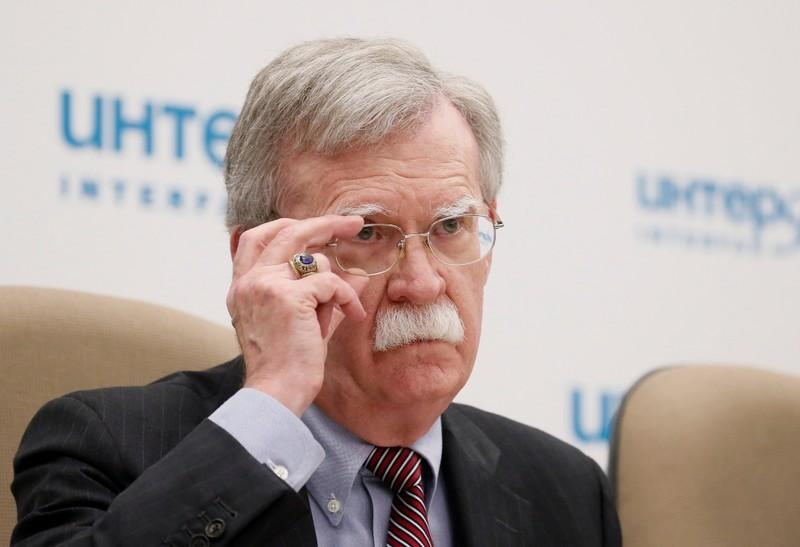 U.S. has yet to decide if it will impose new sanctions on Russia - Bolton