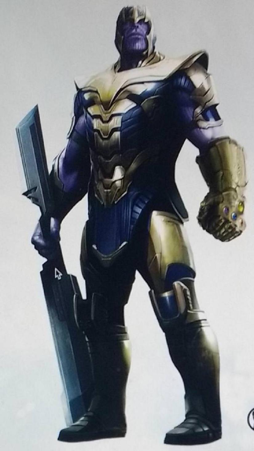 Avengers 4 concept art of Thanos. Image via Reddit