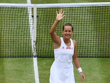 Wimbledon 2019: Barbora Strycova beats Johanna Konta in straight sets to reach first Grand Slam semi-final