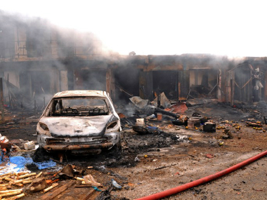 Nigeria: Two girls stage suicide attack in market, 17 people injured