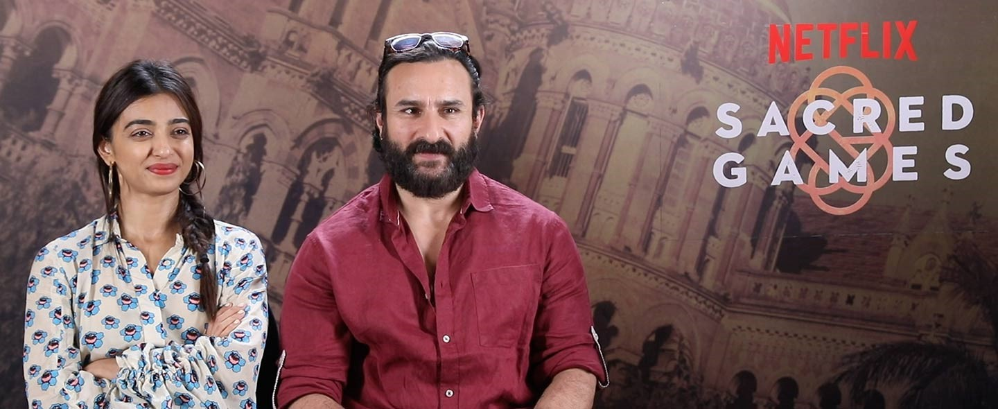 Saif Ali Khan and Radhika Apte in conversation with Imran Ismail about how they prepared for their roles in the upcoming show SacredGames, a Netflix Original