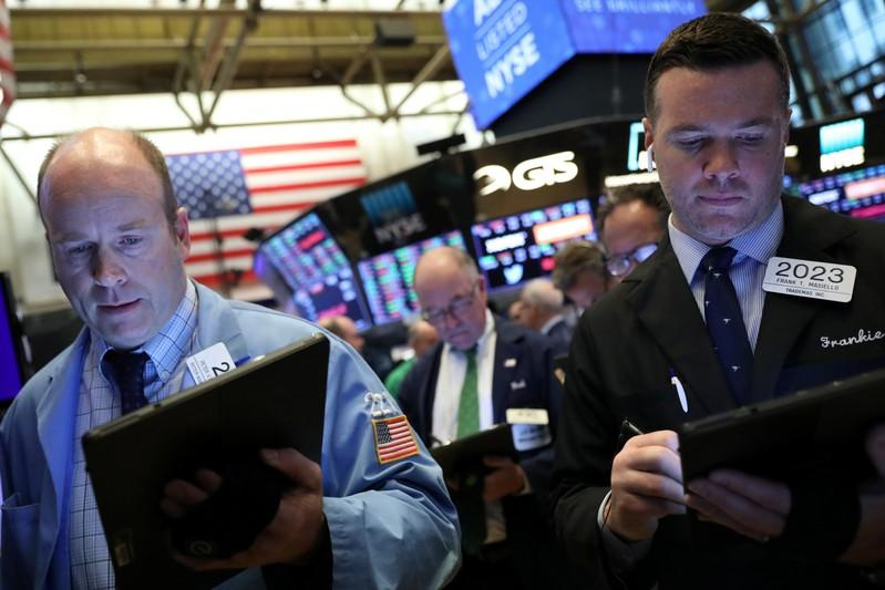 Bank results curb Wall Street, oil falls as Russia mulls production boost