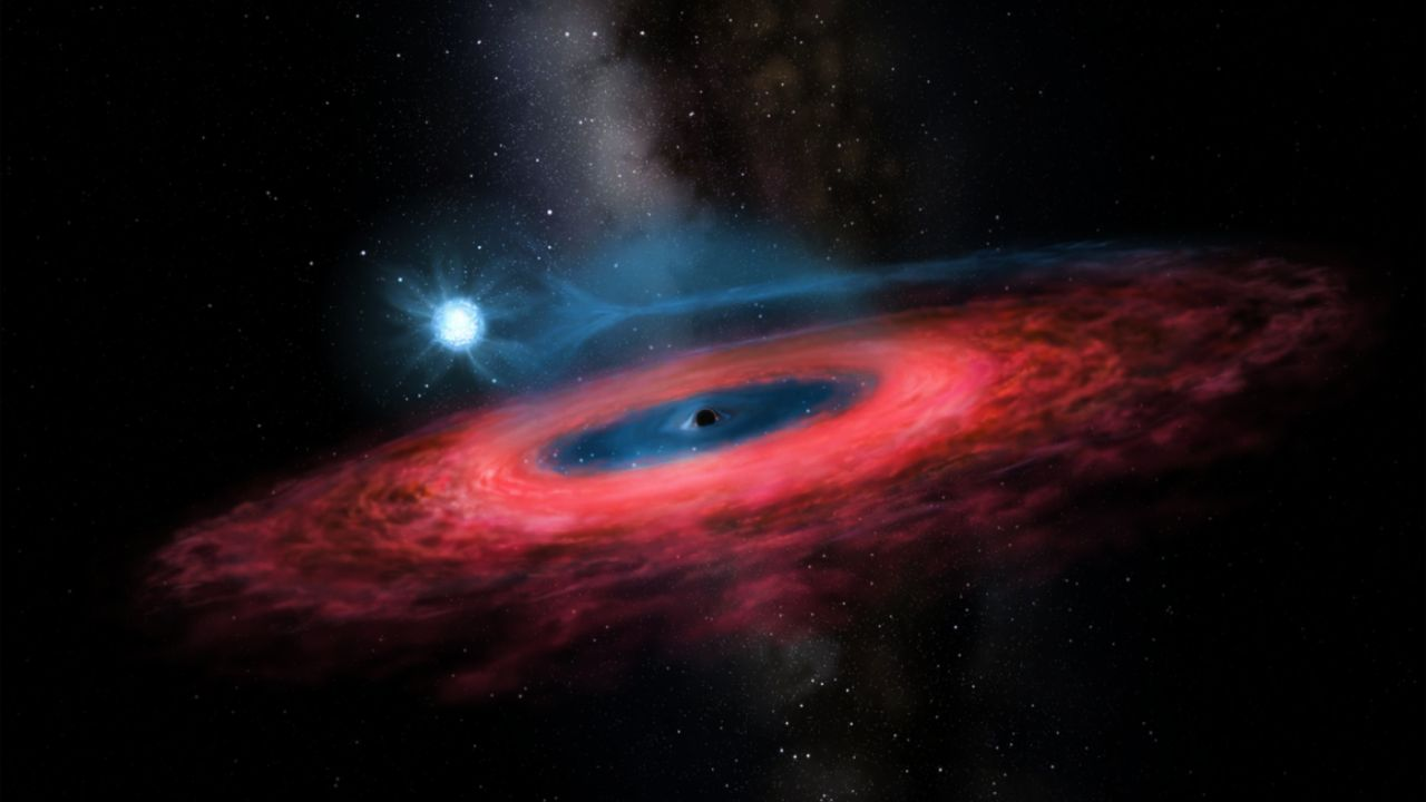 Black hole so huge it 'shouldn't even exist' discovered in our galaxy
