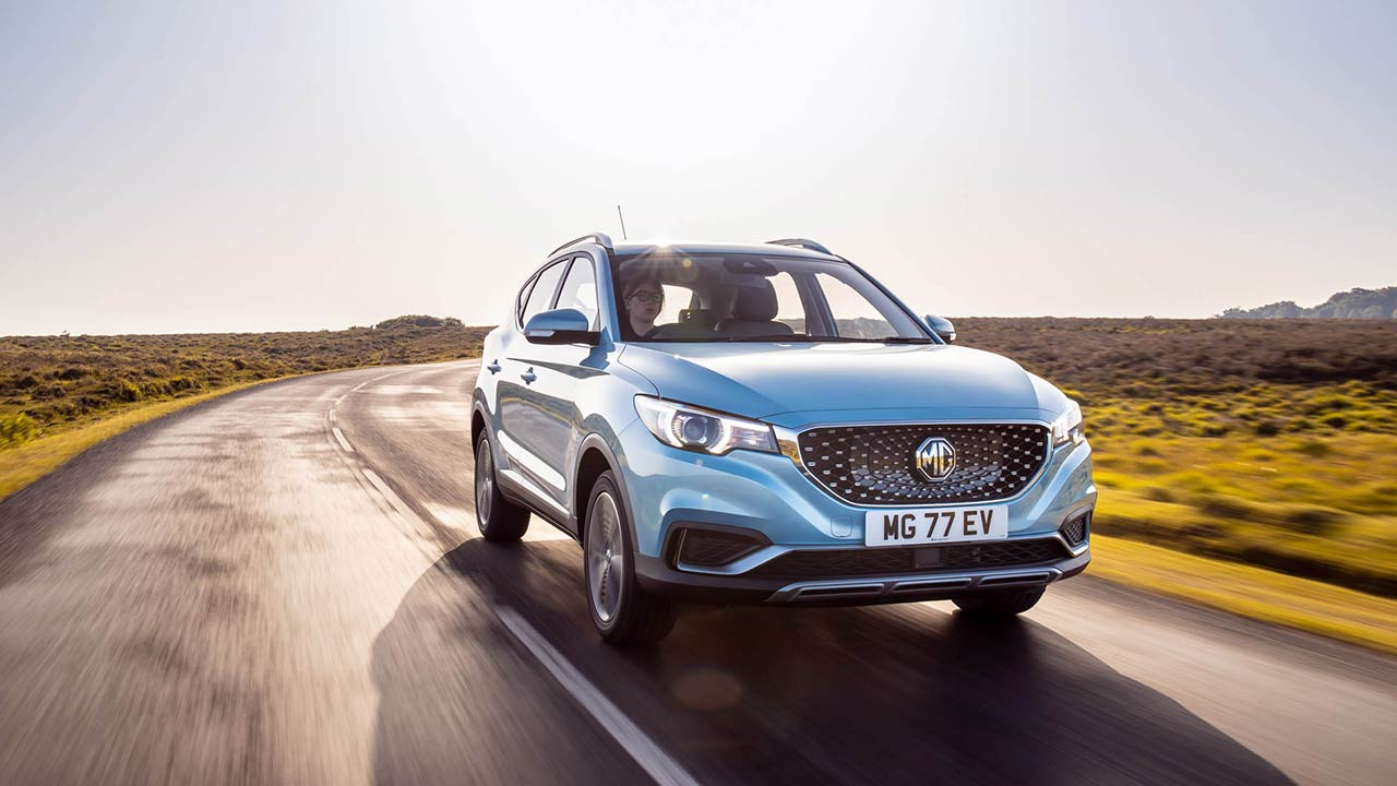 MG Motor showcases ZS EV all-electric SUV in India, to be launched on 15 January 2020