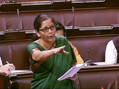 Nirmala Sitharaman in Rajya Sabha says growth may have slowed down but economy will never slip into recession