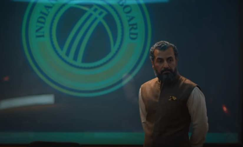 Aamir Bashir in a still from Inside Edge 2. Image from YouTube