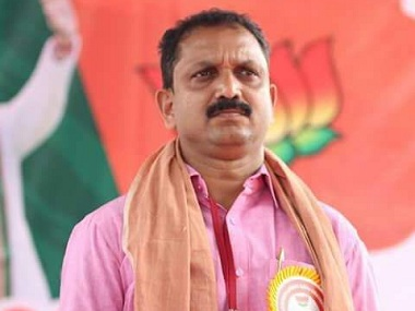 K Surendran takes over as Kerala BJP chief; 50-yr-old firebrand says state party has strength to make 'political leap'