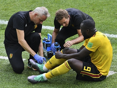 FIFA World Cup 2018: Belgiums Romelu Lukaku in doubt for England tie due to ankle injury, says coach Roberto Martinez