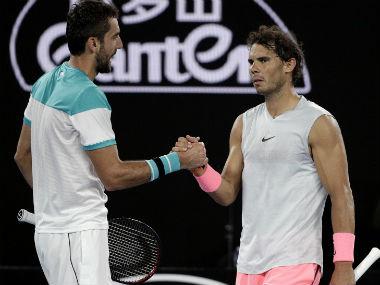 Australian Open 2018: Marin Cilic reaches semis after Rafael Nadal succumbs to injury on a day of upsets