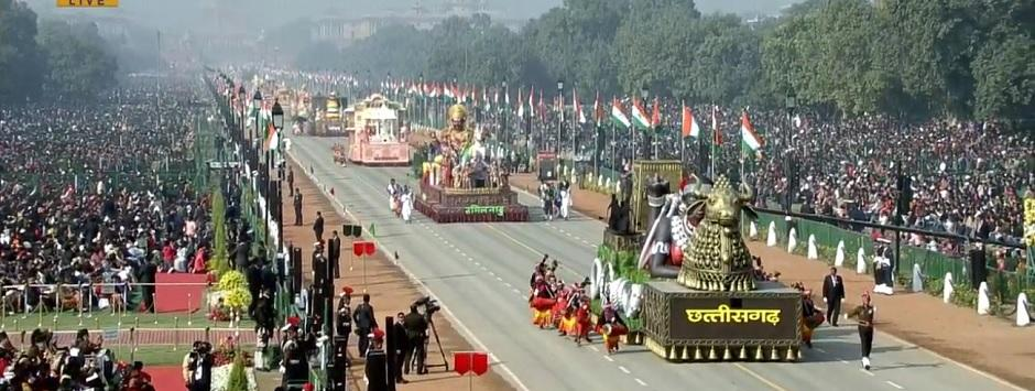 Republic Day 2020 LIVE Updates: School children present dance performances from various states; stunts by all-women CRPF daredevils soon