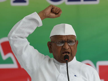 Modi will be held responsible if anything happens to me, says Anna Hazare as his fast continues on 5th day