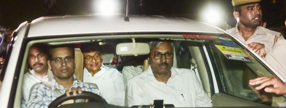 Chidambaram arrested LIVE updates: CBI team escorting ex-FM to reach court shortly; Nalini, Karti Chidambaram present