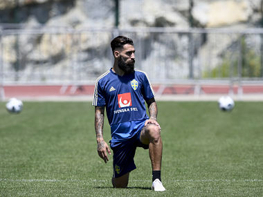 FIFA World Cup 2018: Sweden midfielder Jimmy Durmaz receives death threat on social media after loss to Germany