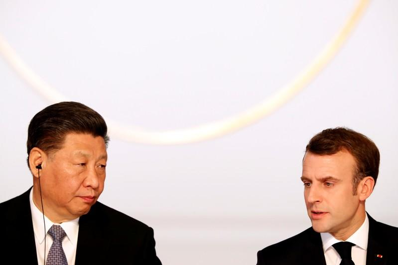 Macron, Xi to agree irreversibility of Paris climate agreement