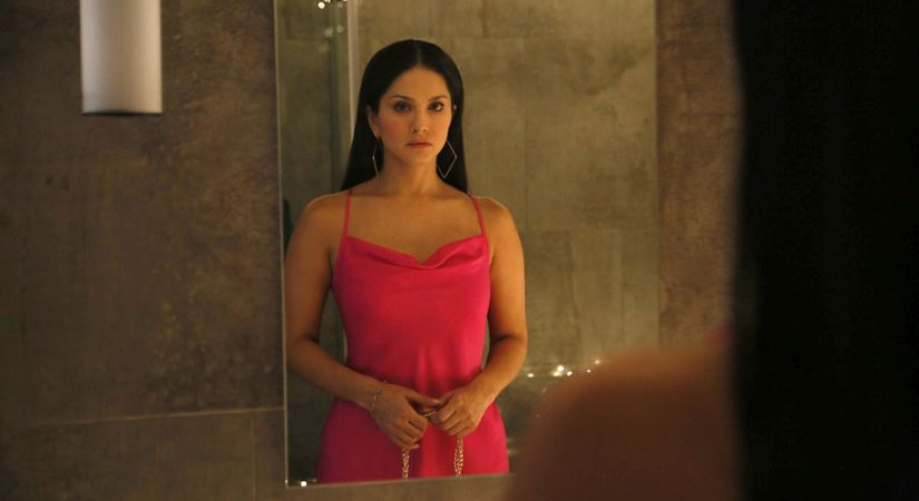 Sunny Leone in a still from Karenjit Kaur: The Untold Story of Sunny Leone