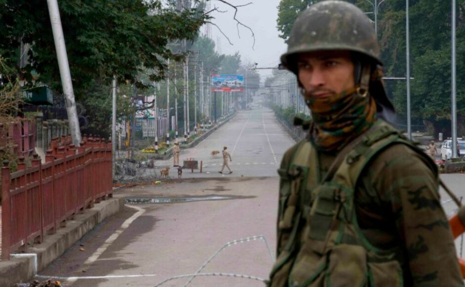 All roads in Srinagar leading to the main Independence Day celebration venue were sealed, but people with special passes were allowed to proceed to the venue. The two Union Territories — Jammu and Kashmir, and Ladakh — will come into existence on 31 October. AP