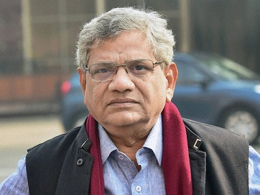 Sitaram Yechury to meet like-minded parties in Tamil Nadu, discuss strategy to form secular front for Lok Sabha polls