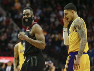 NBA: James Harden shines again as Rockets rally from 21-point deficit to down Lakers in overtime; Bucks, Raptors cruise to win