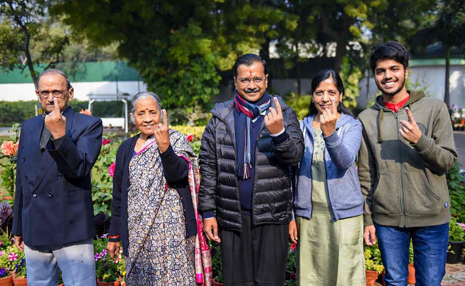 Delhi Assembly Elections: Arvind Kejriwal, Priyanka Gandhi, Vijay Goel among those who cast ballot; security beefed up at Shaheen Bagh