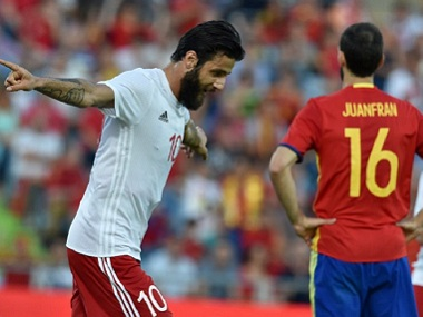 Spain end Euro 2016 preparation in worst possible way, lose 1-0 at home to 137-ranked Georgia