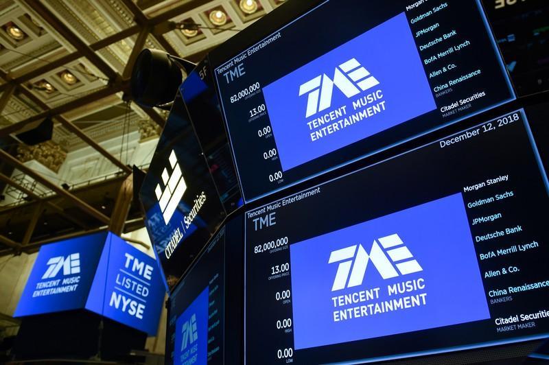 Chinas Tencent Music revenue misses estimates, share fall 4%
