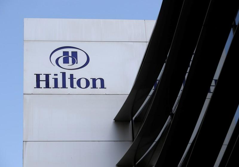 Hiltons better-than-feared forecast drives shares higher amid trade worries