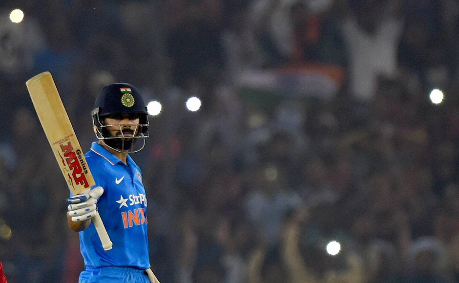 Ross Taylor dropping Virat Kohli proved to be a costly mistake as the Indian Test team captain went onto score an unbeaten 154 to win India's third ODI in Mohali. PTI