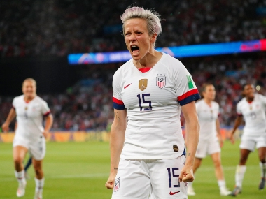 Megan Rapinoe enjoys spotlight after helping US womens team clinch second World Cup title, focuses on football pay fight