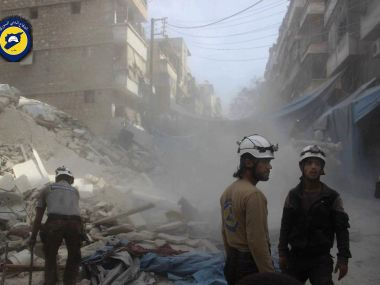 Syria: At least 15 killed as airstrikes hit rebel-held neighborhoods of Aleppo