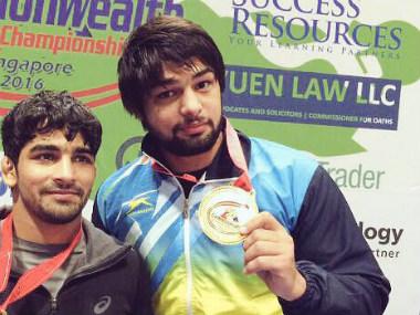 Wrestlers Sumit, Satyawart Kadiyan, Ravinder confirm South Asian Games berths with gold in senior national championships