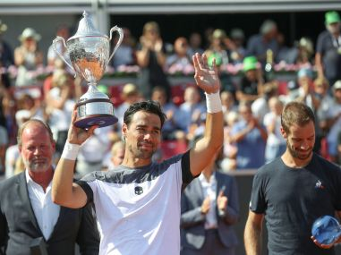 Sweden Open: Fabio Fognini defeats Richard Gasquet in three sets to win his seventh ATP career title