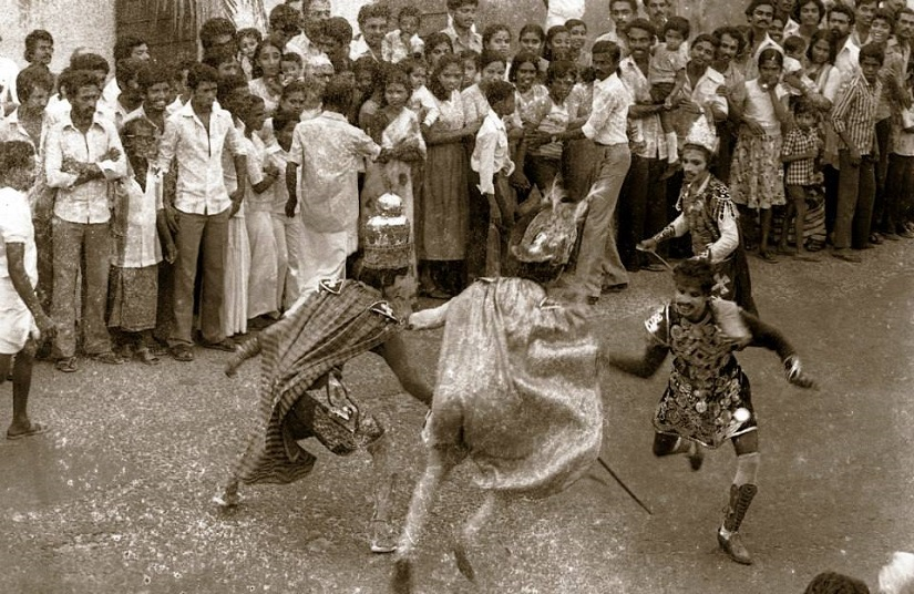 The Beach Festival 1984-85, the first Cochin Carnival, taken by Abul-Kalam-Azad. Image courtesy of EtP Photo Archive