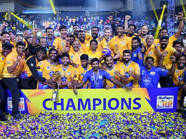 Pro Volleyball League: Chennai Spartans stun Calicut Heroes in final to be crowned first PVL champions