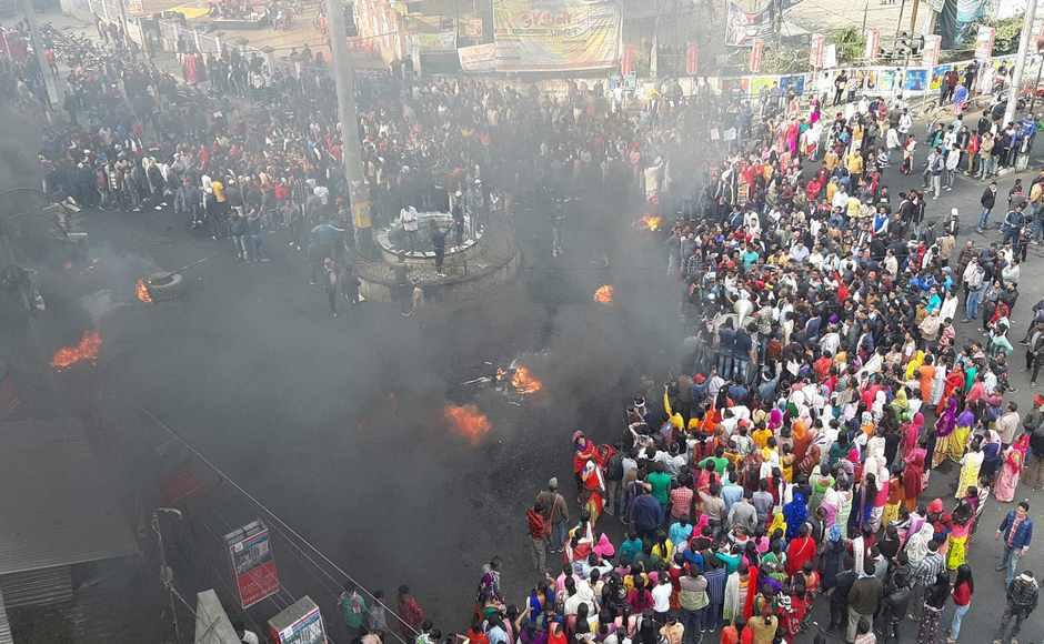 Anti-CAB protests rock North East India as Rajya Sabha passes contentious legislation; demonstrators stage massive rallies