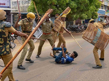 Tuticorin protests: Tamil Nadu CB-CID officials conduct assessment of areas where agitators resorted to violence