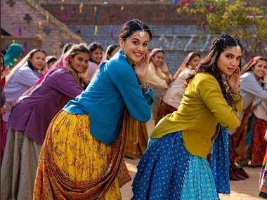 Saand Ki Aankh song Womaniya sees Taapse Pannu, Bhumi Pednekar pay tribute to womanhood